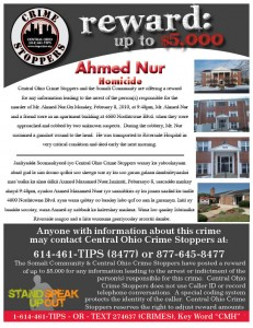 Somali Community Teams with Crime Stoppers to Solve Nur Murder