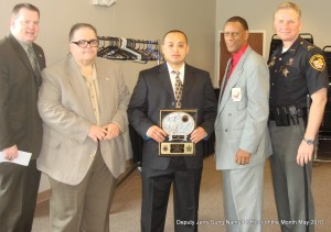 Deputy Jerry Sung Named Officer of the Month (Video)
