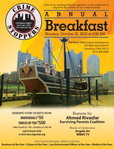 2010 Crime Stoppers Annual Breakfast