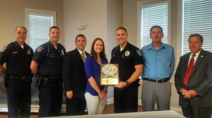 Ofc. Zac Scurlock-Aug Officer of Month