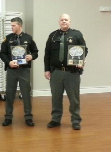November Officers of the  Month