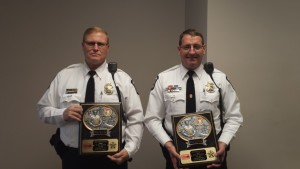 Officers Scott Clinger & Larry Geis-April