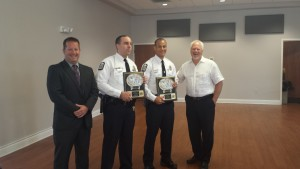 Officers of the Month for July 2015: Columbus Police Officers Ryan Fowler and Sam Rippey