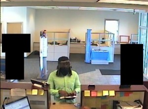 Lewis Center Bank Robbery