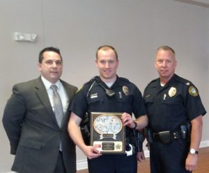 Officer Joe Rehnert Named Officer of the Month