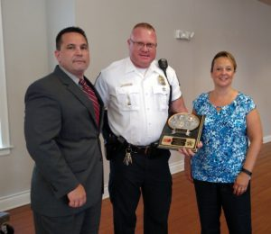 July/August Officer of the Month