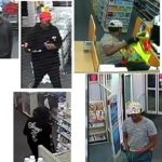 Related Robberies in Columbus, Lancaster, and Whitehall.