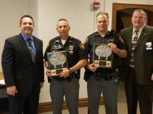 Deputies Coburn and Ulry Named October Officers of the Month
