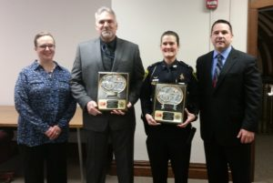 March Officers of the Month: Detective Mike Lambert and Detective Sergeant Sheila Murphy