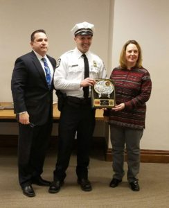 Officer of the Month Award for April: Officer Richard Shaffner