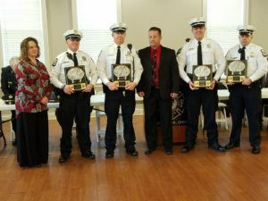 January Officers of the Month and Bless the Badge Event