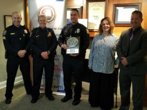 Officer of the Month for April 2018