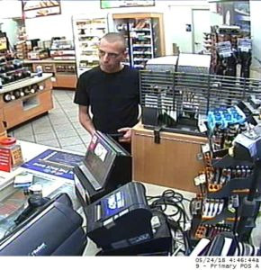 Stolen Credit Cards at Hilliard Rome Speedway